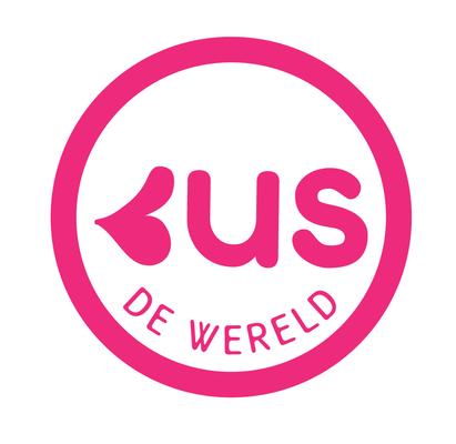 Kus de wereld Logo